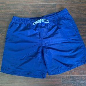 Forever 21 men's board shorts XL blue